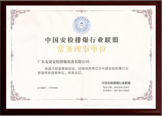 中国世界杯足彩网站排爆行业联盟常务理事单位