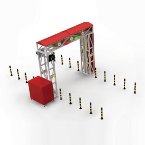 AD-JZX-02  X射线车辆安全检查系统