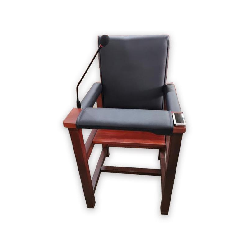 AD-SXY20 软包木质审讯椅